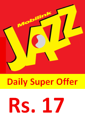 Jazz Super Daily Offer Price Detail and Code