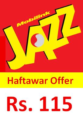 Jazz Haftawar Offer Subscribe Code, Price, Detail