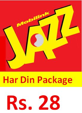 Jazz Har Din Package Detail, Price, Code