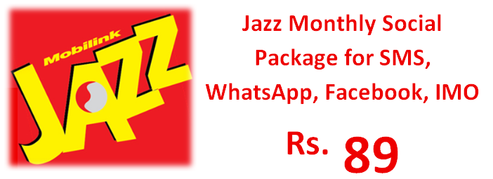 Jazz Monthly Social Package Activation Code