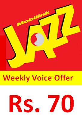 Jazz Weekly Voice Offer Activate Code, Price, Detail
