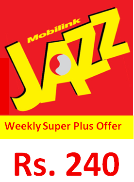 Jazz Weekly Super Plus Offer Code, Price, Detail