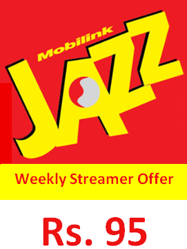 How to subscribe Jazz Weekly Streamer Offer